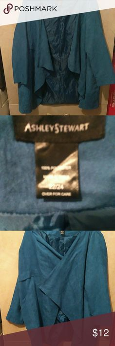 Ashley Stewart jacket Ashley Stewart Ashley Stewart Sweaters Shrugs & Ponchos