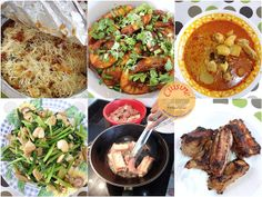 Cuisine Paradise | Singapore Food Blog | Recipes, Reviews And Travel: 2013 Chinese New Year Family Gatherings - Chinese New Year lunch gathering at small uncle house