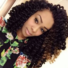 Crochet Hair Bantu Knots : ... Crochet Braids Hairstyles on Pinterest Crochet braids, Marley hair