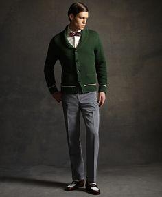 Bow tie & knitwear