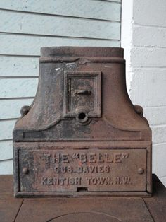 RARE ANTIQUE VICTORIAN CAST IRON THE BELLE STOVE OVEN GUS DAVIES KENTISH TOWN   eBay Cast Iron, It Cast, Stove Oven, Architectural Antiques, Stoves, Rare Antique, Victorian, Ebay, Ovens