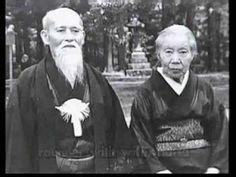 Old Films Morihei Ueshiba y el Aikido - Takemusu Aiki 1/3 - Sub Español