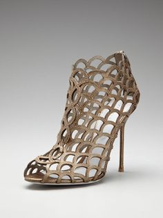 Watersnake strappy sandal by Sergio Rossi.