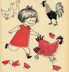 Vintage Children's Book Illustrations!