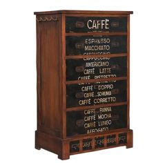 *Cafe Espresso Chest for coffee lovers! | BelleEscape.com