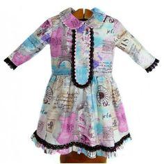 Vestido niña original hecho a mano