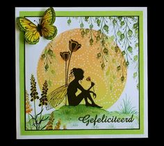 Fairies 123 Cards, Rubber Stamp Company, Lavinia Stamps Cards, Fairy Silhouette, Tampons, Fairy Art, Copics, Art Plastique, Flower Cards