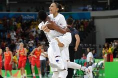 USA continues remarkable run by routing Spain in hoops final -   .