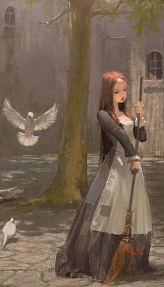 The Art Of Animation, Xuhui - your version of cinderella (include stepsister maybe? Illustrations, Illustration Art, Character Inspiration, Character Art, Animation, Belle Photo, Native American Indians, Painting & Drawing, Amazing Art