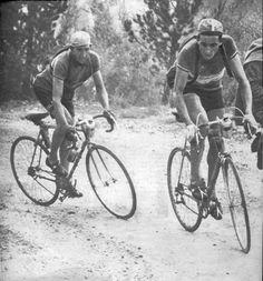 Gino Bartali 1948 Tour de France #vintagecycling #vintagephotography