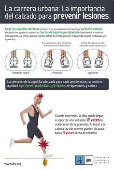 ¿Pronador o supinador? la importancia de las zapatillas a la hora de correr para evitar lesiones. Imagen cortesía del IBV.