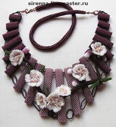 Beautiful jewelry with sakura flowers | Beads Magic
