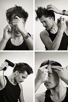 Auch Männer suchen Halt. Jedenfalls, wenn's um Haare geht: Tipps für die richtige Anwendung von Gel, Wachs, Pomade und Schaumfestiger.