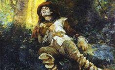 1920 | Antônio Parreiras  óleo sobre tela  110.90 x 144.20 cm  Pinacoteca do Município de São Paulo. Coleção de Arte da Cidade
