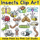 Insects Clip Art - Bugs Clip Art: butterfly, moth, ant, worm, caterpillar etc