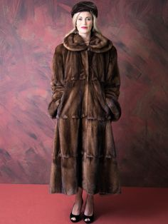 Amazing Fendi Style Mink Coat by MyUlrika on Etsy