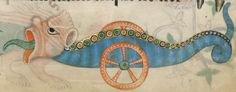 Detail from The Luttrell Psalter, British Library Add MS 42130 (medieval manuscript,1325-1340), f184r