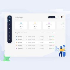 Similar UI elements are grouped to form visual blocks to present information. Similar UI elements are reused here. Dashboard Ui, Dashboard Design, Social Media Dashboard, Application Ui Design, Interaktives Design, Layout Design, App Ui Design, Web Layout, Tool Design