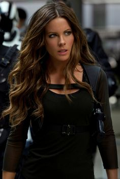 Kate Beckinsale- Love her hair in this movie! Hair goal for this fall :)