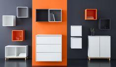 Conjunto de piezas de la serie EKET de IKEA