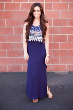 Tribal maxi dress, Bellami hair extensions, fashion blogger