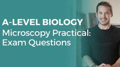 Microscopy Practical: Exam Questions #2 | A-level Biology | OCR, AQA, Ed... Optical Microscope, A Level Biology, Aqa, Student, How To Plan, Youtube, Nature, Naturaleza, Nature Illustration