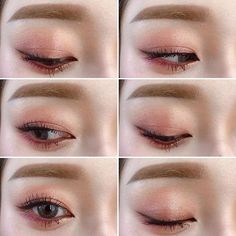 9 Korean Makeup Looks – My hair and beauty Korean Makeup Look, Korean Makeup Tips, Asian Eye Makeup, Korean Makeup Tutorials, Blue Eye Makeup, Makeup Eyeshadow, Eyeshadow Ideas, Blue Eyeshadow, Makeup Trends