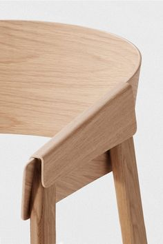 Muuto Cover Chair in Oak | Beautiful Scandinavian designs at Nordic New. | From www.nordicnew.nl @NordicNew