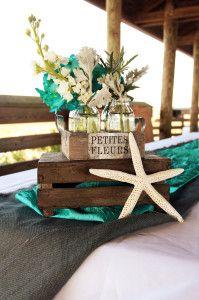 Beach Wedding Centerpiece