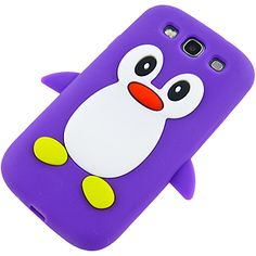 #Penguin Cover Case for #Samsung Galaxy S III, Purple $12.99 From #DayDeal