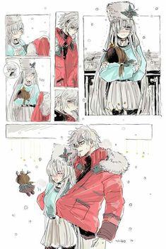 Kadoc and Anastasia Chibi Wallpaper, Cool Anime Guys, Cute Couple Art, Fate Anime Series, Ichimatsu, Slayer Anime, Couple Drawings, Cool Animations, Cute Comics