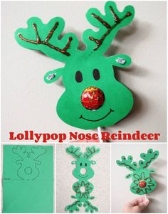 lollypop reindeer