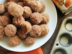 almond flour pumpkin donuts