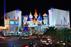 Photo about Excalibur Hotel and Casino, Las Vegas at night with busy traffic. Couples Resorts, Best Ski Resorts, All Inclusive Resorts, Best Vacations, Best Hotels, Luxury Hotels, Las Vegas Hotels, Las Vegas Vacation, Las Vegas Nevada