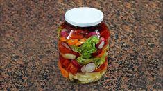 Pickled vegetables - Practice at Practice Pickles, Cucumber, Salsa, The Creator, Vegetables, Youtube, Food, Canning, Essen