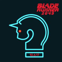 """Blade Runner 2049 """"Questions"""" Blue Unicorn (Animated Gif)"""