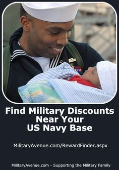 Find Military Discounts near your US Navy Base - http://www.militaryavenue.com/Navy/2/InstallationSelect.aspx - #MilDiscount
