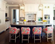 For the Love of Character: Kitchen Island Inspiration