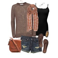 """Long Sleeved Summer"" by jill-hammel on Polyvore"