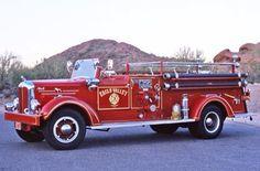 1951 Mack Model A Open cab fire truck...