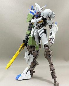 Arte Gundam, Gundam Art, John Wick Movie, Blood Orphans, Gundam Toys, Gundam Iron Blooded Orphans, Strike Gundam, Gundam Custom Build, Gunpla Custom