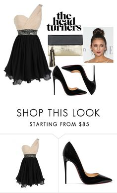 """Untitled #1"" by polyvoream ❤ liked on Polyvore featuring Christian Louboutin and BeckSöndergaard"