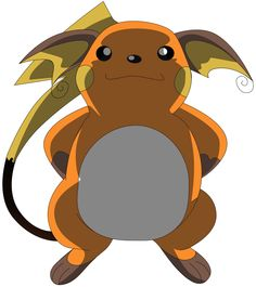 My sixth vector of Raichu. by Flutterflyraptor on DeviantArt