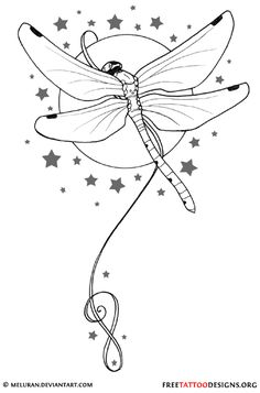 Dragonfly Free Tattoo Stencil - Free Tattoo Dragonfly Designs For Women - Customized Dragonfly Tattoos - Free Dragonfly Tattoos - Free Dragonfly Printable Tattoo Stencils - Free Dragonfly Printable Tattoo Designs Dragonfly Drawing, Dragonfly Tattoo Design, Dragonfly Art, Dragonfly Clipart, Wood Burning Patterns, Wood Burning Art, Free Tattoo Designs, Tattoo Free, Muster Tattoos