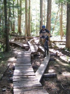 how to build a mountain bike trail