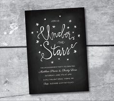 Under+the+Stars+Printable+invitation+by+Itsy+Belle+by+ItsyBelle,+$16.00