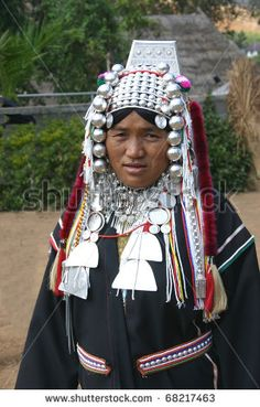 Akha-hill-tribe-village-chiang-rai-thailand-jan-akha-woman-models-traditional-clothing-