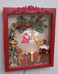 christmas shadow box $ 379 00 americana shadow box featuring pat lytle ...
