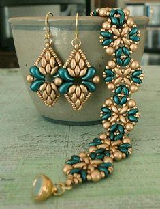 beaded earrings making Beaded Earrings Patterns, Bracelet Patterns, Beaded Necklace, Beaded Bracelets, Silver Bracelets, Bracelet Designs, Ankle Bracelets, Embroidery Bracelets, Silver Jewelry
