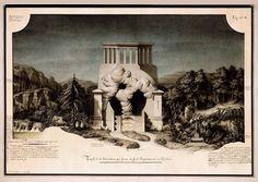 Jean-Jacques Lequeu, Temple de la Devination